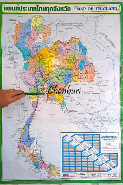 Chonburi Thailand for farang