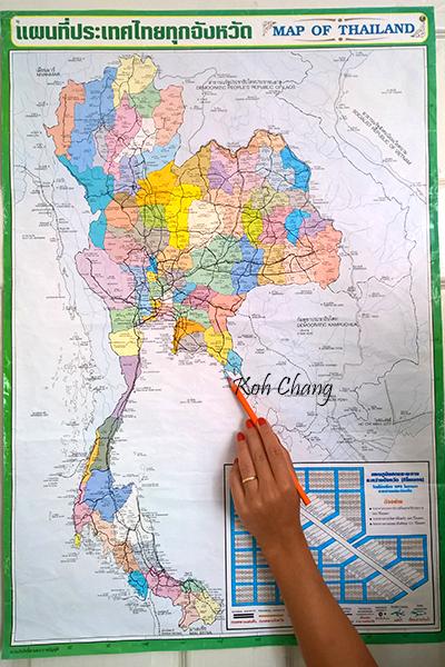 Trat Koh Chang Thailand for farang