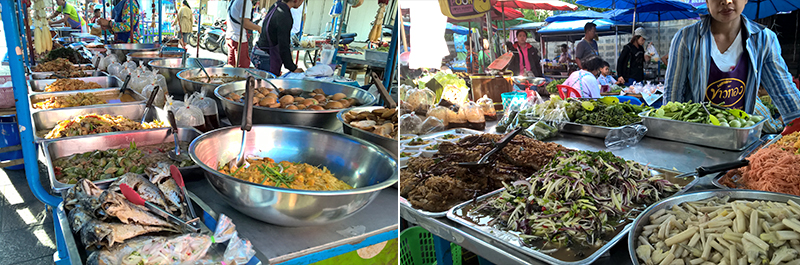authentic-market-Thailand-prepared-food