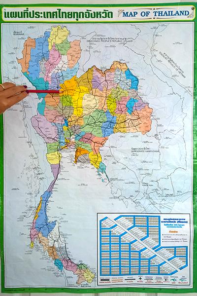 Phitsanulok Thailand Map.Phitsanulok Thailand For Farang